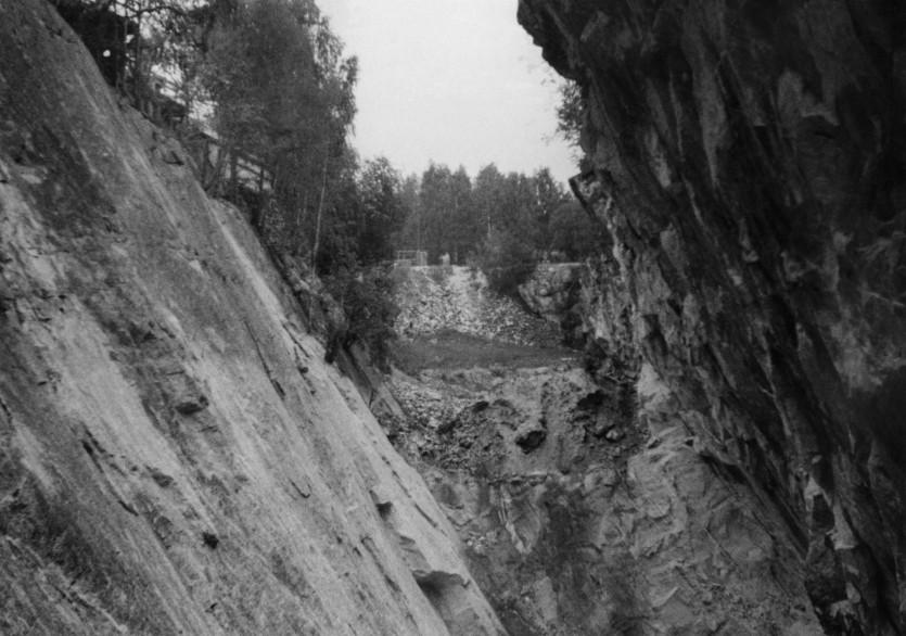 Kuvausaika 1949-07-21 Valokuvaaja(t) Stigzelius, Herman Tekijänoikeudet Herman Stigzelius, Geologian tutkimuskeskus Lähde Geologian tutkimuskeskus, GTK